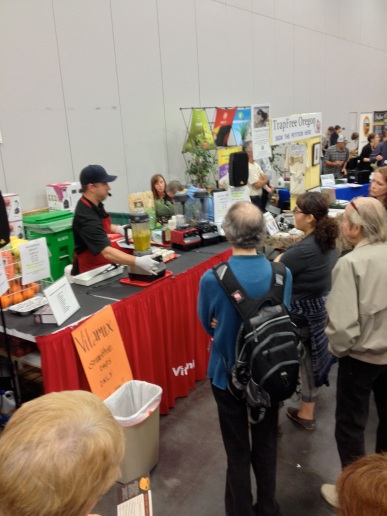 Vitamix demonstrations of Southwestern Soup