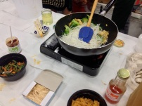 Pad Thai cooking demonstration -- one of my favorite meals ever!