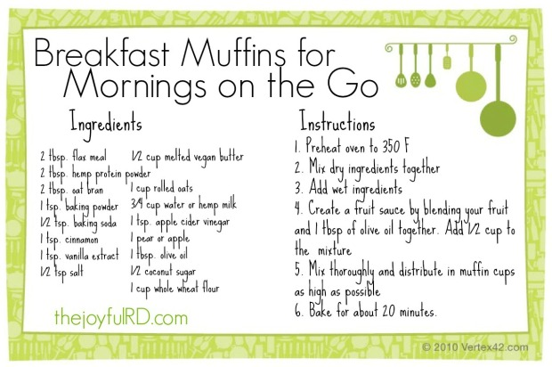 MuffinRecipeCard